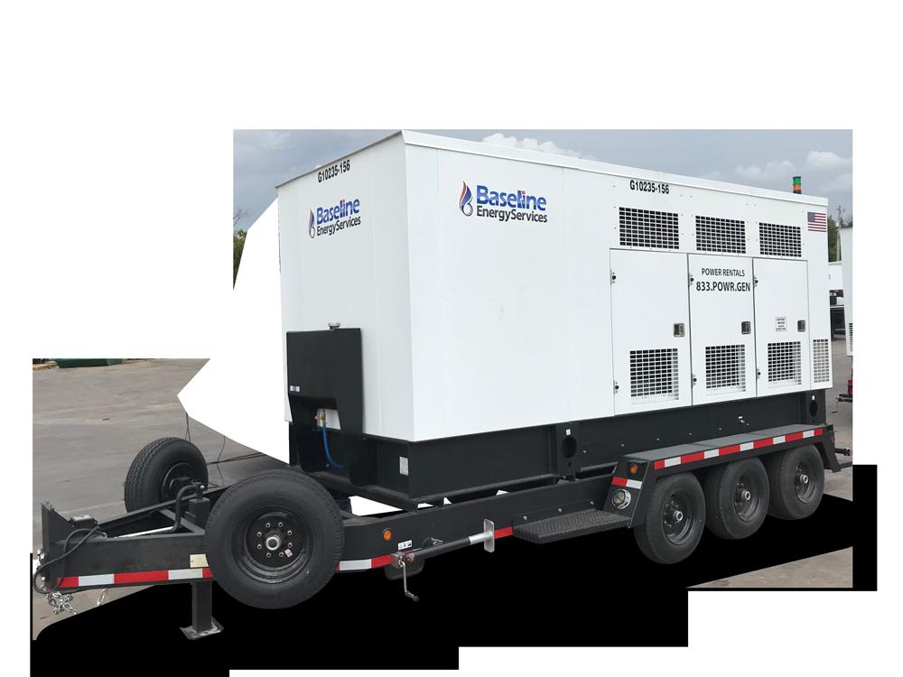 235 kW Natural Gas Generator Rental